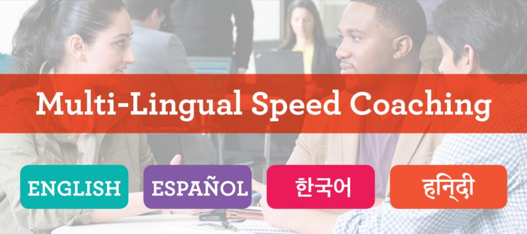 multilingual speed coaching