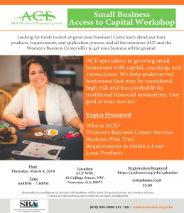 Small Business Access to Capital 3818