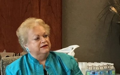 Ann Stallard speaks at ACE HPG Spring Luncheon