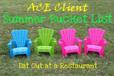 ACE Client Summer Restaurant Bucket List