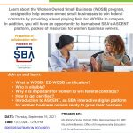 Women-Owned Small Business Certification & SBA's ASCENT