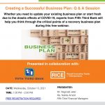 Creating a Successful Business Plan: Q & A Session